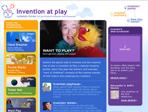 Invention at Play Website