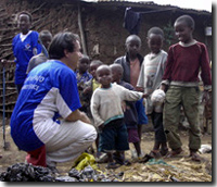 Patrick in Kibera